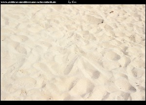 angekommen am Strand Šunj