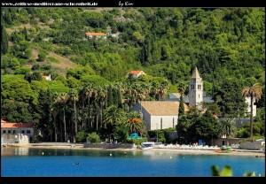 Das Dominikanerkloster in Sicht