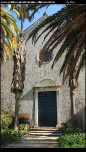 Eingangsportal zur Kirche Sv. Nikola am Dominikanerkloster