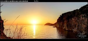 Die sensationelle Steilküste im Abendlicht