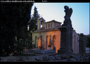 Crkva Sv. Nikola am Abend