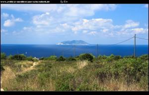 Impressionen aus Polje - im Hintergrund die Insel Sv. Andrija