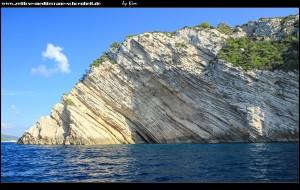 beeindruckende Steilküste im Norden von Biševo