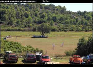 In Plisko Polje findet ein Kriket-Speil statt