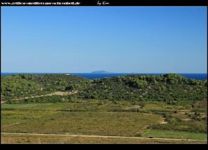 Ein weiterer schöner Ausblick auf das Velo Polje und die Insel Sušac