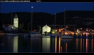 Die Halbinsel bei Nacht