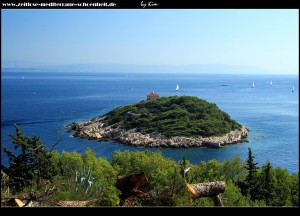 Das Inselchen mit dem Leuchtturm