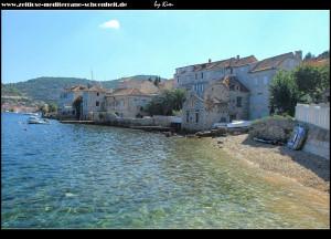 alte Häuserreihen direkt am Wasser gebaut