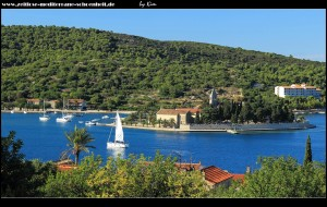 Blick auf die Halbinsel Prirovo