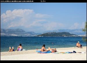 Strandalltag in Slatine