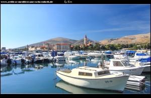 Die besten Aussichten auf Trogirs einzigartige Altstadt erhascht man von Čiovo-Ort aus