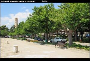 die westliche Promenade mit Cafemeile