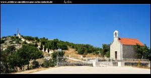 auf dem Weg zum Malačka, mit tollen Fernblick, Denkmal, Kreuz und Kapelle