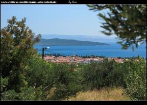 auf dem Weg zum Malačka mit Blick auf Kaštela