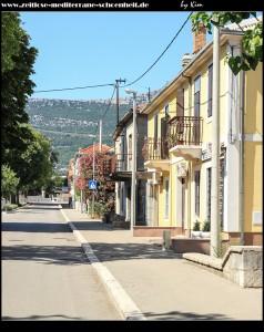 Straße zur Gospa od Ružarija und in Richtung Magistrale