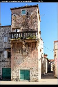 Das Kastell Pera im inneren der Ortschaft