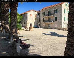 Rund um den Platz Brce mit seinen Denkmälern und dem Kastell