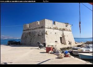 Das unvollendete Kastell - der Turm Nehaj