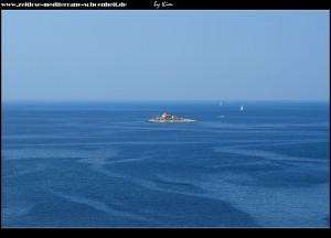 Blick auf das Inselchen Murvica