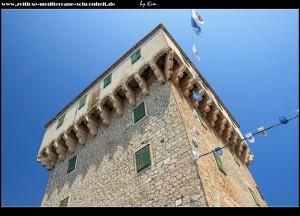 Die Riva und das Kastell von Marina