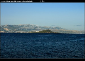 Slatine Ausblick auf die Halbinsel Marjan und das Mosor-Gebirge