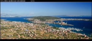 Wahnsinnsausblicke auf Trogir, die spektakuläre Küste und die Inseln