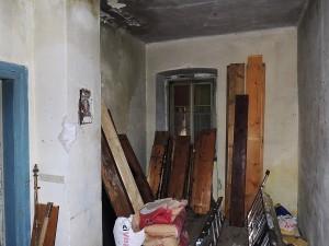 der neue jedoch stark renovierungsbedürftige Bau in Sveti Juraj