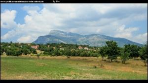 Blick auf Cetina-Ort