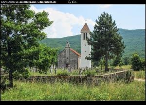 Maovice mit Kirche Sv. Jure