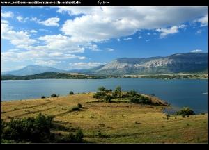 Impressionen vom Westufer der Perućko Jezero