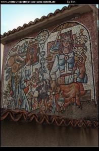 Mosaik des Künstlers Mladen Veža