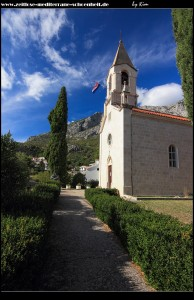 Die Pfarrkirche Sv. Margarita
