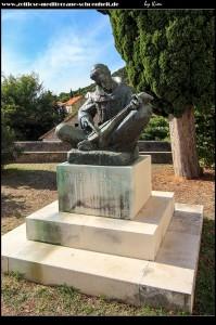 Bronzedenkmal des fra. Andrija Kačić-Miošić