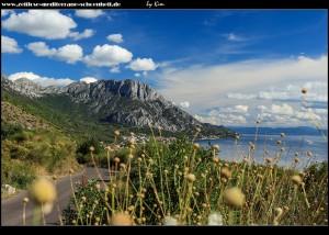 auf dem Weg rauf ins alte Podaca mit tollen Bergblicken