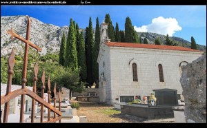In Murava mit samt Friedhof und Kirche