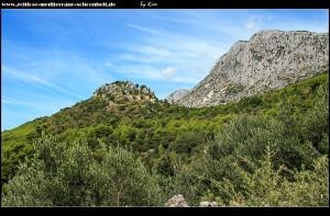 rauf in die Berge zum alten Drvenik