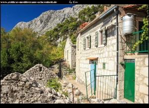 Streifzug durchs alte Dorf Zaostrog