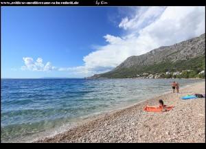 Am Strand von Porat