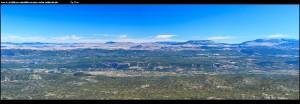 Auf dem Sv. Jure mit Blick auf die Herzegovina, Imotski und seine Seen