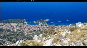 Blick auf Makarska