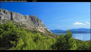 auf der Panorama-Straße rauf ins Gebirge