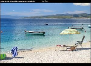 am Strand von Bratuš