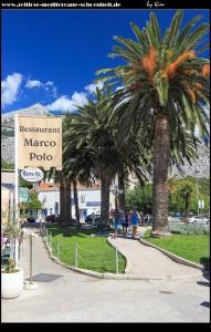 kleiner Park zu Beginn der Altstadt mit Brunnen