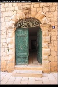 Eingang zum Haus Vukovič auf der Kalalarga