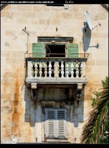 Häuserzeilen angrenzend zur Riva
