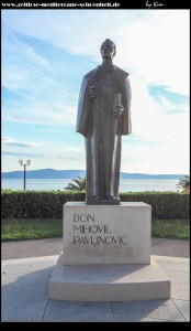 Denkmal an don Mihovil Pavlinović