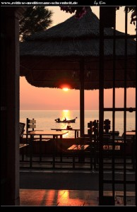 Sonnenuntergang in Podgora