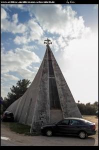 unglaublich hässlich - die Pfarrkirche Podgoras